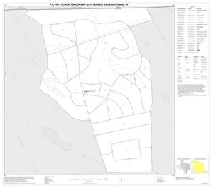 Primary view of object titled 'P.L. 94-171 County Block Map (2010 Census): Van Zandt County, Inset A01'.