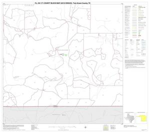 Primary view of object titled 'P.L. 94-171 County Block Map (2010 Census): Tom Green County, Block 25'.