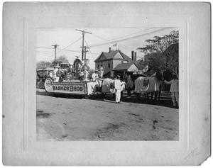Primary view of object titled 'Parade Floats - Washer Bros, ca. 1890'.