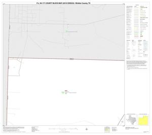 Primary view of object titled 'P.L. 94-171 County Block Map (2010 Census): Winkler County, Block 1'.