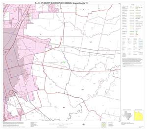 Primary view of object titled 'P.L. 94-171 County Block Map (2010 Census): Grayson County, Block 15'.