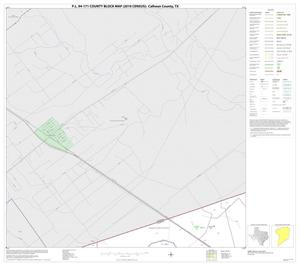 Primary view of object titled 'P.L. 94-171 County Block Map (2010 Census): Calhoun County, Block 1'.