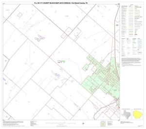 Primary view of object titled 'P.L. 94-171 County Block Map (2010 Census): Fort Bend County, Block 56'.