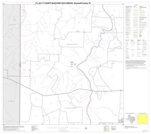 Primary view of object titled 'P.L. 94-171 County Block Map (2010 Census): Stonewall County, Block 5'.