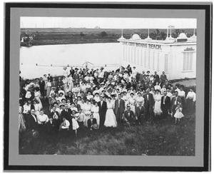Primary view of object titled '[W.C. Stripling's First Annual Picnic at Lake Como, 1910]'.