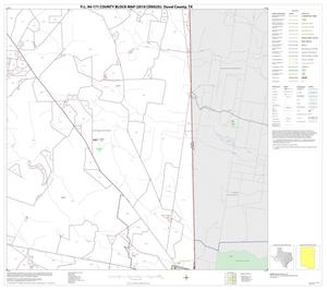 Primary view of object titled 'P.L. 94-171 County Block Map (2010 Census): Duval County, Block 8'.