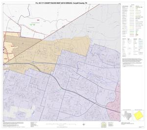 Primary view of object titled 'P.L. 94-171 County Block Map (2010 Census): Coryell County, Block 27'.