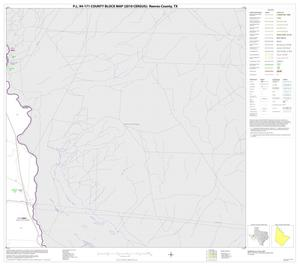 Primary view of object titled 'P.L. 94-171 County Block Map (2010 Census): Reeves County, Block 5'.