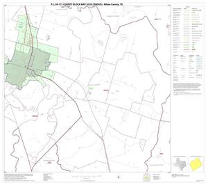 Primary view of object titled 'P.L. 94-171 County Block Map (2010 Census): Milam County, Block 12'.