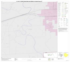 Primary view of object titled 'P.L. 94-171 County Block Map (2010 Census): Fort Bend County, Block 1'.