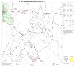 Primary view of object titled 'P.L. 94-171 County Block Map (2010 Census): Polk County, Block 20'.