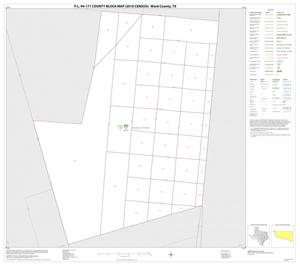 Primary view of object titled 'P.L. 94-171 County Block Map (2010 Census): Ward County, Inset D01'.