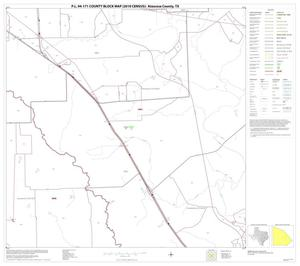 Primary view of object titled 'P.L. 94-171 County Block Map (2010 Census): Atascosa County, Block 16'.