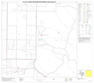 Primary view of object titled 'P.L. 94-171 County Block Map (2010 Census): Crosby County, Block 11'.