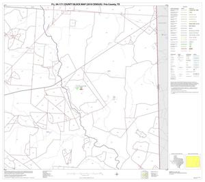 Primary view of object titled 'P.L. 94-171 County Block Map (2010 Census): Frio County, Block 12'.