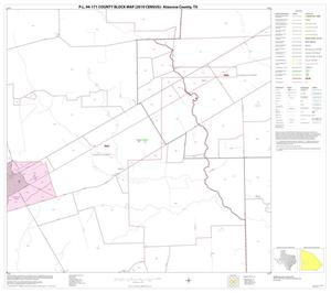Primary view of object titled 'P.L. 94-171 County Block Map (2010 Census): Atascosa County, Block 14'.