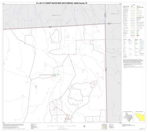 Primary view of object titled 'P.L. 94-171 County Block Map (2010 Census): Webb County, Block 16'.