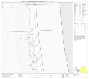 Primary view of object titled 'P.L. 94-171 County Block Map (2010 Census): Kenedy County, Block 15'.