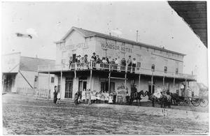 Primary view of object titled 'Windsor Hotel, Sweetwater Texas'.