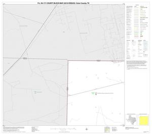 Primary view of object titled 'P.L. 94-171 County Block Map (2010 Census): Ector County, Block 1'.
