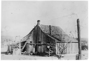 Primary view of object titled 'Ranch house in Sweetwater, Texas'.