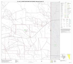 Primary view of object titled 'P.L. 94-171 County Block Map (2010 Census): Maverick County, Block 8'.