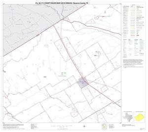 Primary view of object titled 'P.L. 94-171 County Block Map (2010 Census): Navarro County, Block 6'.