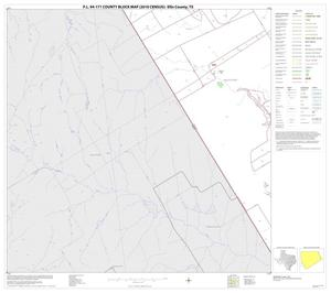 Primary view of object titled 'P.L. 94-171 County Block Map (2010 Census): Ellis County, Block 29'.