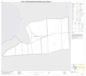 Primary view of object titled 'P.L. 94-171 County Block Map (2010 Census): Marion County, Inset B01'.