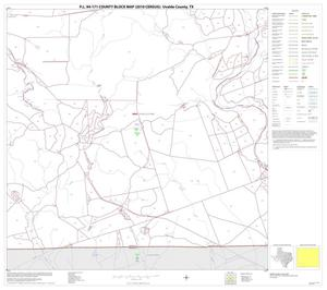 Primary view of object titled 'P.L. 94-171 County Block Map (2010 Census): Uvalde County, Block 26'.