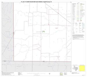 Primary view of object titled 'P.L. 94-171 County Block Map (2010 Census): Haskell County, Block 13'.