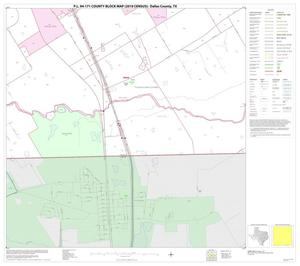 Primary view of object titled 'P.L. 94-171 County Block Map (2010 Census): Dallas County, Block 79'.