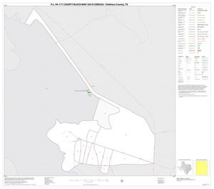 Primary view of object titled 'P.L. 94-171 County Block Map (2010 Census): Childress County, Inset A01'.