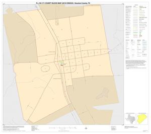Primary view of object titled 'P.L. 94-171 County Block Map (2010 Census): Houston County, Inset D01'.