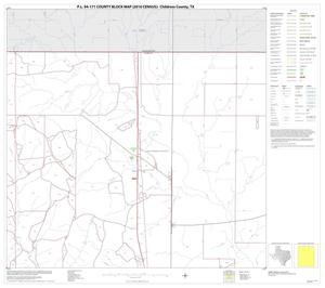 Primary view of object titled 'P.L. 94-171 County Block Map (2010 Census): Childress County, Block 2'.