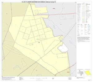 Primary view of object titled 'P.L. 94-171 County Block Map (2010 Census): Anderson County, Inset D01'.