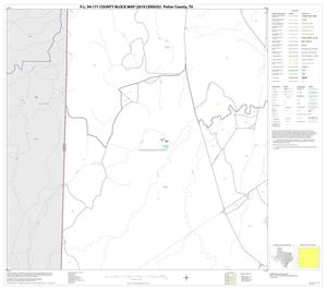 Primary view of object titled 'P.L. 94-171 County Block Map (2010 Census): Potter County, Block 9'.