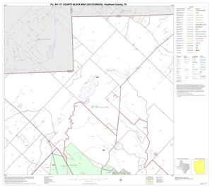 Primary view of object titled 'P.L. 94-171 County Block Map (2010 Census): Kaufman County, Block 3'.
