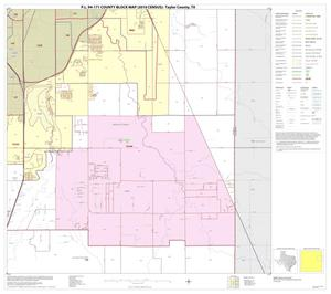 Primary view of object titled 'P.L. 94-171 County Block Map (2010 Census): Taylor County, Block 8'.