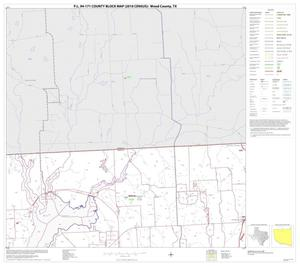 Primary view of object titled 'P.L. 94-171 County Block Map (2010 Census): Wood County, Block 3'.