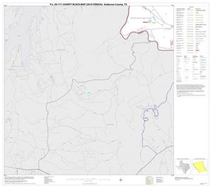 Primary view of object titled 'P.L. 94-171 County Block Map (2010 Census): Anderson County, Block 14'.