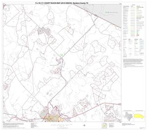 Primary view of object titled 'P.L. 94-171 County Block Map (2010 Census): Bandera County, Block 10'.