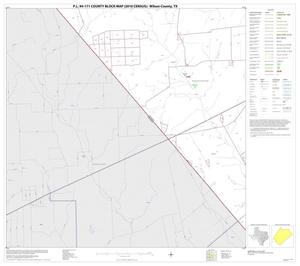 Primary view of object titled 'P.L. 94-171 County Block Map (2010 Census): Wilson County, Block 15'.