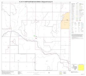 Primary view of object titled 'P.L. 94-171 County Block Map (2010 Census): Collingsworth County, Block 6'.