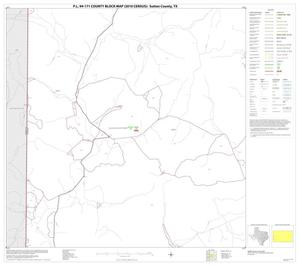 Primary view of object titled 'P.L. 94-171 County Block Map (2010 Census): Sutton County, Block 13'.