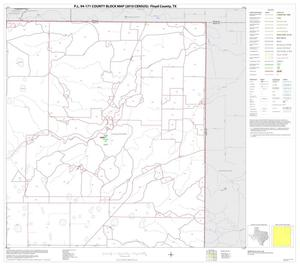 Primary view of object titled 'P.L. 94-171 County Block Map (2010 Census): Floyd County, Block 3'.