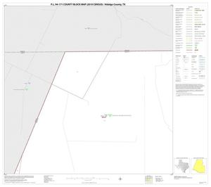 Primary view of object titled 'P.L. 94-171 County Block Map (2010 Census): Hidalgo County, Block 1'.