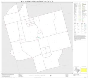 Primary view of object titled 'P.L. 94-171 County Block Map (2010 Census): Andrews County, Inset A01'.