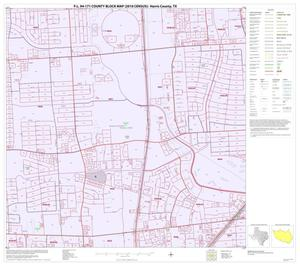 Primary view of object titled 'P.L. 94-171 County Block Map (2010 Census): Harris County, Block 232'.