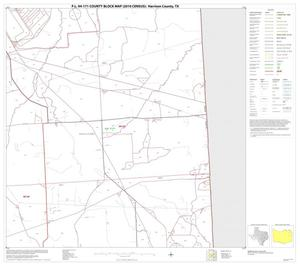 Primary view of object titled 'P.L. 94-171 County Block Map (2010 Census): Harrison County, Block 10'.